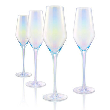 8 oz. Champagne Flute in Clear (Set of 4)