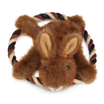 Grriggles Fuzzy Flyer Dog Toy Chipmunk