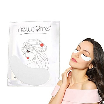THINKSHOW 100 Pairs Lint Free Eye Gel Pad under Eye for 3D Eyelash Extensions Makeup Tools Eye Pad Patch