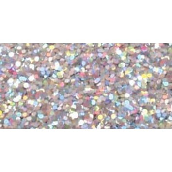 STAMPENDOUS Medium Halo Glitter .74 Ounce-Silver