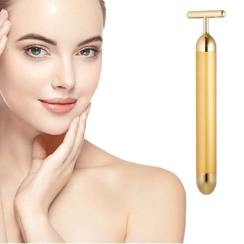 24k Golden pulse facial massager, Instant Face Lift, Anti-Wrinkles,Skin Tightening, Face Firming, Eliminate Dark Circles, and a good Anti-Aging Device for Man and Women (G
