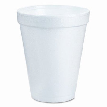 Dart Container Corp Insulated Styrofoam Cup, 6 Oz, 1000/Ct, White