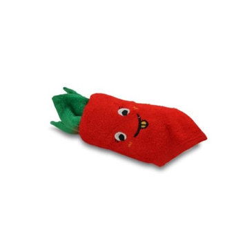 Couture Towel CT-HGCT001501 12 x 11 x 2 in. Carrot Towel Red & Green