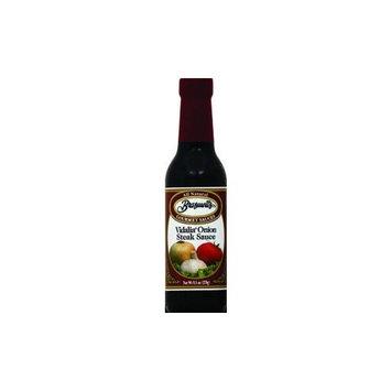 Braswell's Vidalia Onion Steak Sauce 9.5 Oz (Pack of 12)
