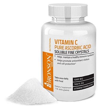 Bronson Vitamins Vitamin C Crystals Pure Ascorbic Acid