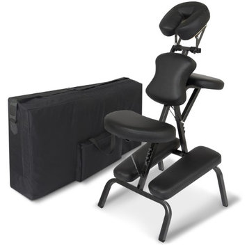Best Choice Products Folding Portable Massage Chair With Carrying Bag