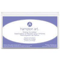 Hampton Art Stamp Scrubber Cleaning Pad & Case 7.5