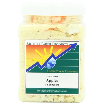 Mother Earth Products Freeze Dried Apples, 1 Full Quart
