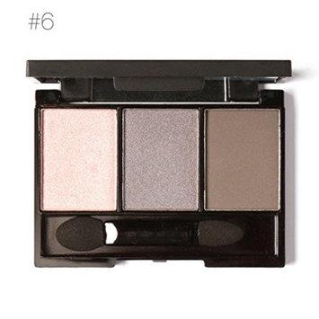 Inverlee 3 Colors Cosmetic Powder Smoky Eyeshadow Palette Makeup Set Matt Available
