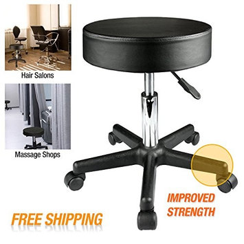 All Goodly Height Adjustable Rolling Swivel Bar /Salon/ Spa/ Massage Stool Chair