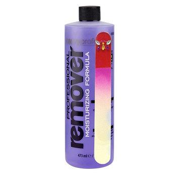 Onyx Professional Lavender Nail Polish Remover 16 oz with nail file has Vitamin E & Grape Seed Oil
