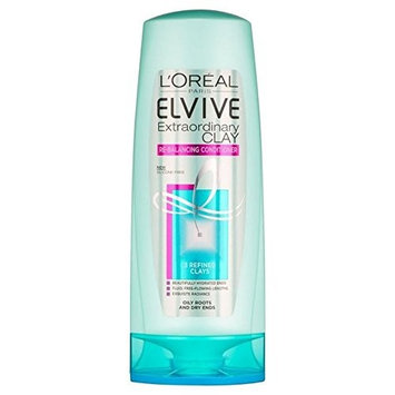 L'Oreal Paris Elvive Extraordinary Clay Re-Balancing Conditioner 400ml (PACK OF 4)