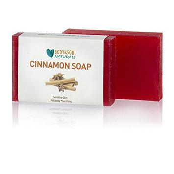 Cinnamon Natural Glycerin Soap Bars (Pack of 3)