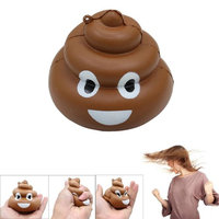 Hatop Squishy Crazy Stool Squeeze Poo Slow Rising Fun Toy Relieve Stress