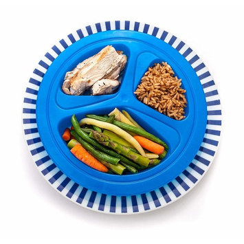 Portions Master Plate | Diet Weight Loss Aid | Food Management & Servings Control 185lbs / 84kg