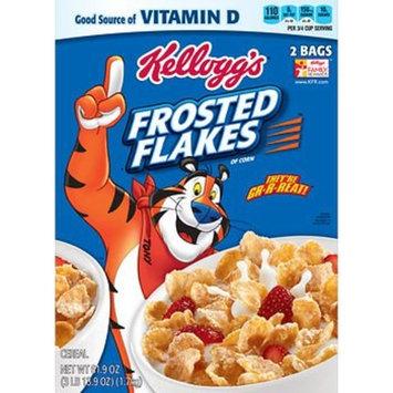 Kellogg's Frosted Flakes, (2 pk./30.9 oz.) AS