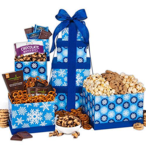 Winter Wonderland Gift Tower