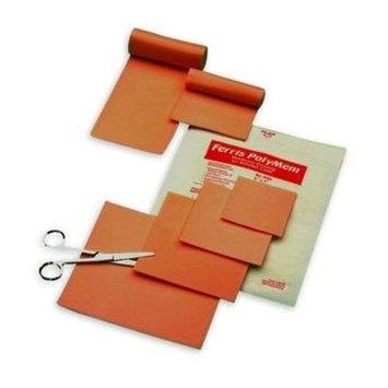 PolyMem QuadraFoam Wound Dressings, Polymem Drs Fm 4X24 in, (1 BOX, 4 EACH)