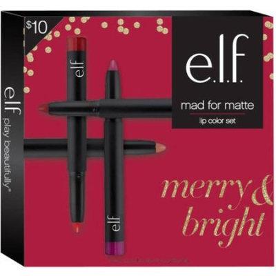 e.l.f. Lip Color Set, Mad for Matte, 0.2 oz