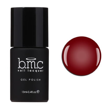Bundle Monster BMC 1pc Sheer Summer Collection: Summer Wine - Red Crystalline Stained Glass Gel Nail Lacquer