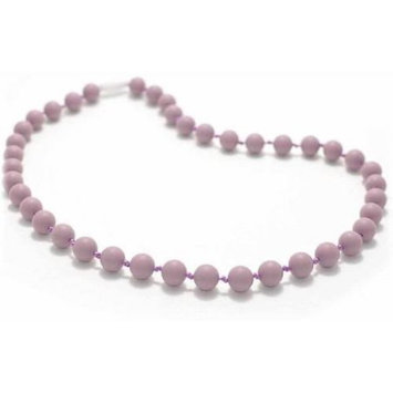 Bitey Beads Classic Silicone Teething Nursing Necklace - Lavender