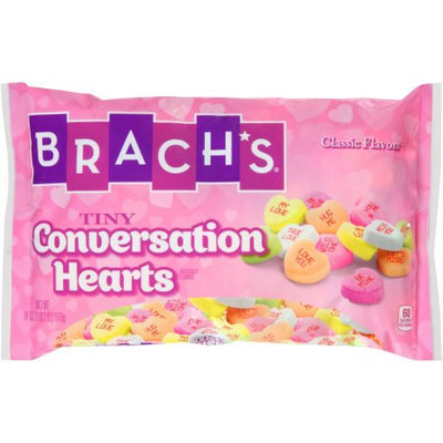 Brach's Tiny Conversation Hearts Candy, 18 oz
