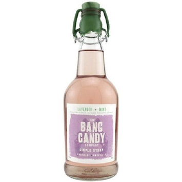 Bang Candy Lavender Mint Flavored Simple Syrup Drink Mix, 12 oz Bottle