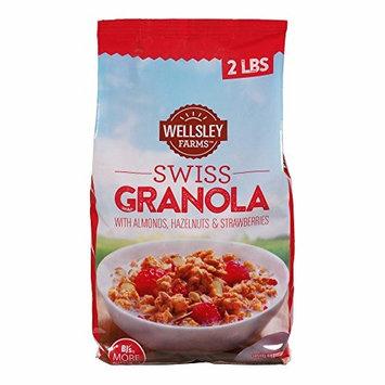 Wellsley Farms Swiss Granola, 2 lbs. (pack of 6)