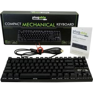 Plugable Technologies Plugable (USB-MECH87BW) Keyboard & Keypad
