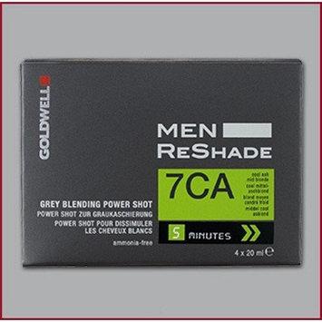 Goldwell Men's Air Spray ReShade Blending Power Shot 7CA Cool Ash Mid Blonde