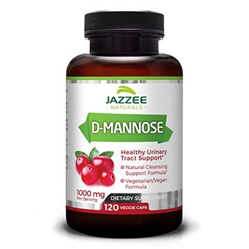 D-Mannose Capsules | 1000 mg per Serving | 180 Veggie Caps | #1 Best Value | Higher, Extra Strength Dosage | Vegan | All-Natural, Fast-Acting, Potent, and Lasting Urinary Tract Support