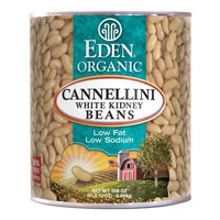 Eden Cannellini (white kidney) Beans, Organic - #10 can, 108 OZ