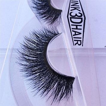 Nobel Hair Long Thick Dramatic Look Handmade Reusable 3D Mink False Eyelashes For Makeup 1 Pair Pack A09