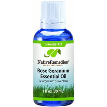 Aswechange NativeRemedies Geranium Essential Oil 30mL, 30 mL
