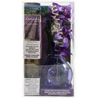 Flora Classique, Inc. Fragranced Reed Diffuser with Decorative Reeds, 6 oz Lavender Fields Fragrance
