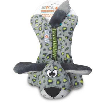 ASPCA CRINKLE & CHEW ROPE PUP Dog Toy