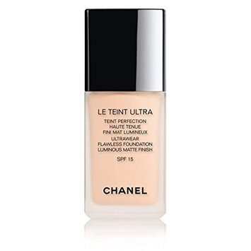 CHANEL LE TEINT ULTRA TEINT PERFECTION HAUTE TENUE FINI MAT LUMINEUX. SPF 15# 10 BEIGE