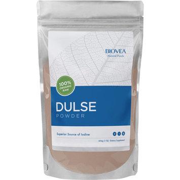 BIOVEA 100% Organic Raw Dulse Powder, 16 oz