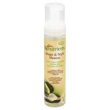 Luster's Renutrients Shape & Style Mousse, 8.5 oz. by Lusters