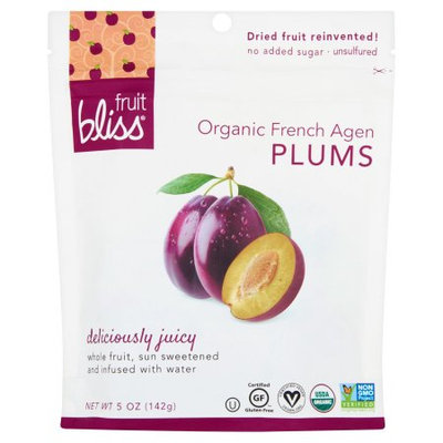 Fruit Bliss, Fruit Plum Frnch Agen Org, 5 Oz (Pack Of 6)