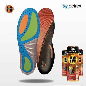 Aetrex Custom Select Series High Arch Orthotics Shoe Inserts for Men and Women - Men's 8