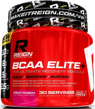 Reign Performan Reign BCAA Elite Fast Recovery Powder w Glutamine Citrulline Malate - Recover Fast, Fight Fatigu