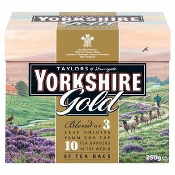 Taylors of Harrogate Yorkshire Gold, 80 Count (Pack of 1)