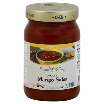 Sage Valley Organic Mango Salsa (Pack of 12)