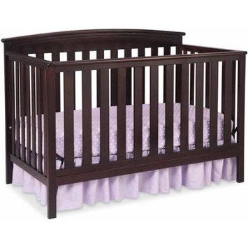 Delta Children's Products Gateway 4-in-1 Fixed-Side Crib, Dark Chocolate