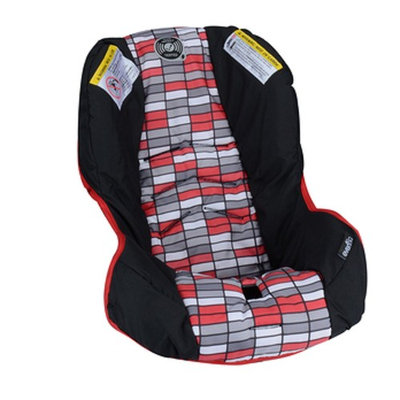 Replacement Car Seat Pad Cover Cushion for Evenflo Vive Travel System with Embrace (Lennox Pattern)