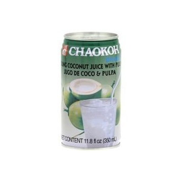chaokoh young coconut juice with pulp - 11.8oz [12 units] (044738209564)