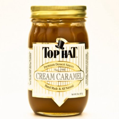 Chocoalteorg Cream Caramel Sauce 20 Oz