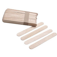 Toraway Approx 50PCS Wooden Body Hair Removal Sticks Wax Waxing Disposable Sticks