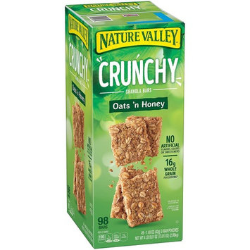 Nature Valley Granola Bars, Crunchy, Oats and Honey, 1.49 Ounce , 1 Pack